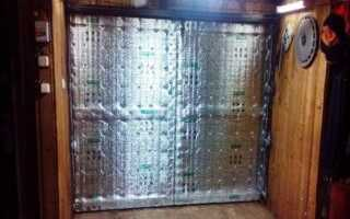 Чем отделать гаражные ворота снаружи?