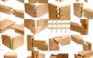 Мебельные соединения деревянных конструкций