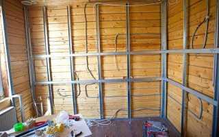 Отделка гипсокартоном деревянные стены как делать?