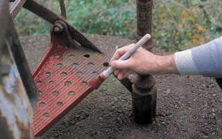 Чем покрасить железо чтобы не ржавело?