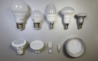 Выбор светодиодных ламп для квартиры