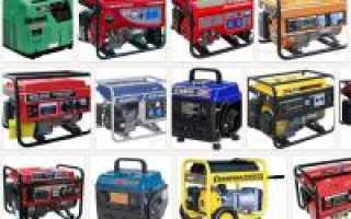 Бензиновый или дизельный генератор какой лучше выбрать