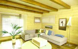 Чем покрасить деревянные стены на даче внутри?