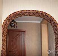 Декорирование арки в квартире своими руками