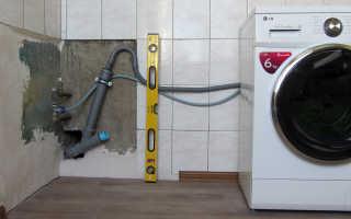 Как подсоединить машинку автомат к водопроводу