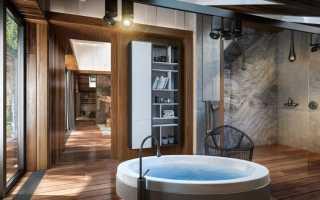 Ванная в деревянном доме чем защитить дерево?