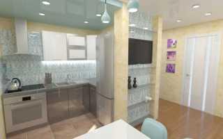 Ремонт кухни и коридора в маленьких квартирах