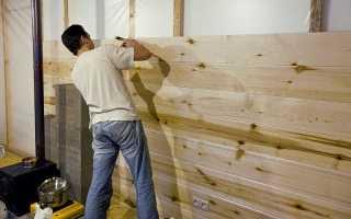 Чем дешевле отделать стены внутри дома?