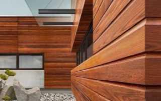 Стеновые панели для внешней отделки деревянного дома