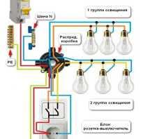 Можно ли подключить розетку к выключателю света