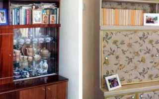 Как поменять фасады на старой мебельной стенке?