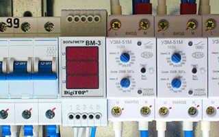 Защита от перенапряжения в сети 380 вольт