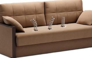 Ремонт мягкой мебели на дому своими руками