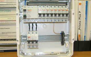 Схема подключения УЗО и автоматов в квартире