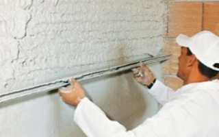 Чем штукатурить стены в ванной под покраску?
