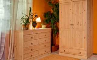 Как самому собрать шкаф из мебельных щитов?