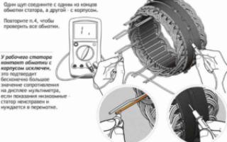 Как прозвонить статор генератора