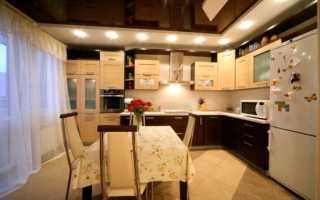 Чем отделать потолок на кухне в квартире?