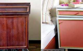 Как перекрасить лакированную мебель своими руками?