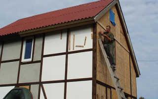 Чем покрасить ОСБ плиту на фасаде?