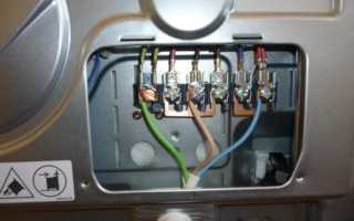 Подключение электроплиты без розетки напрямую