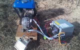 Генератор переменного тока 220в своими руками