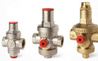Регуляторы давления воды в квартире принцип действия