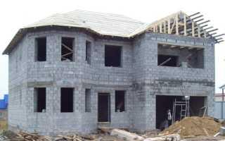 Дом из пескоблока плюсы и минусы