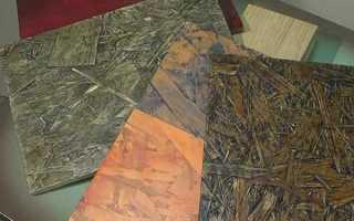 Чем покрасить ОСБ плиту внутри дома?