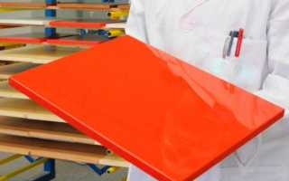 Обработка МДФ перед покраской