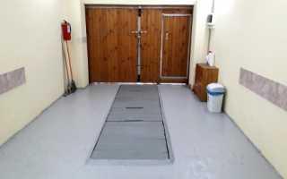 Какой краской покрасить бетонный пол в гараже?