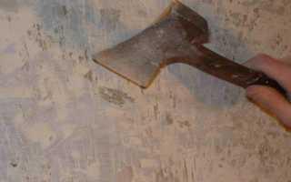 Как убрать краску со стен в квартире?