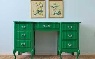 Как покрасить ламинированную мебель в другой цвет?