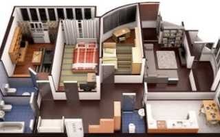Ремонт хрущевской четырехкомнатной квартиры в панельном доме