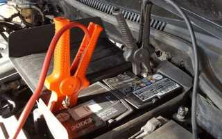 Проверка зарядки аккумулятора от генератора