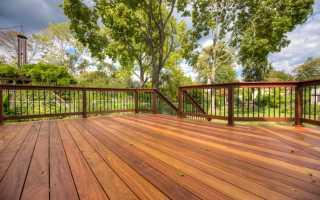Чем покрасить деревянный пол на открытой веранде?