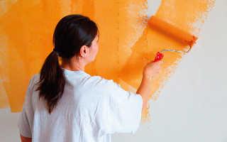 Сколько раз нужно мыть валик при покраске?