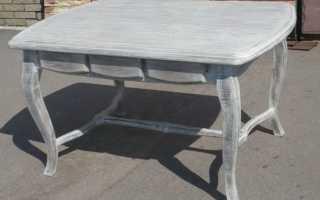 Как покрасить старый стол своими руками?