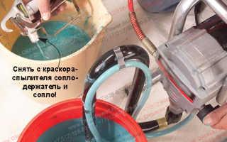 Емкость для краски при окрашивании методом распыления