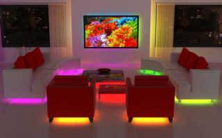 Подсветка мебели светодиодной лентой своими руками