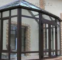 Как отделать тамбур перед домом стеклопакетами?