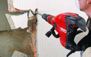 Как лучше сломать стену в квартире?