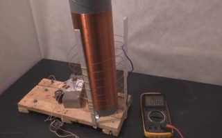 Эфирный генератор тесла
