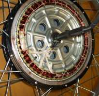 Генератор для велосипеда из шагового двигателя