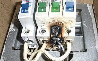 Прогрузка автоматических выключателей ПУЭ
