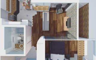 Обустройство однокомнатной квартиры своими руками