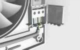 Подключение вентилятора с таймером к общему выключателю
