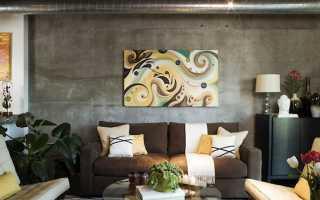 Стены в гостиной варианты отделки без обоев