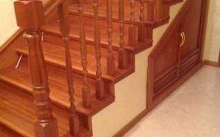 Как отделать бетонную лестницу деревом своими руками?
