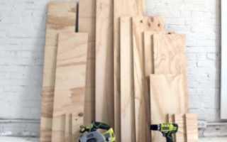Особенности изготовления садовой мебели из фанеры